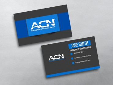 Acn business cards free shipping acn business card template reheart Choice Image